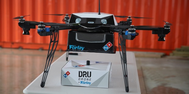 Clay pigeon or a pizza drone?